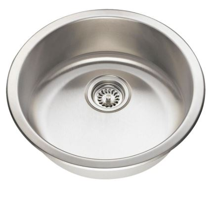 465 18 Gauge Dual Mount Single Bowl Stainless Steel