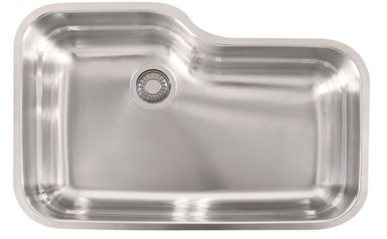 Franke USA Gauge Undermount Single Bowl Stainless Steel