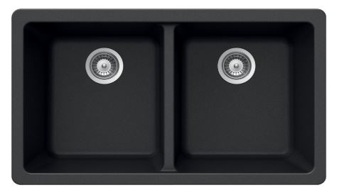 Houzer Double Bowl Kitchen Sink