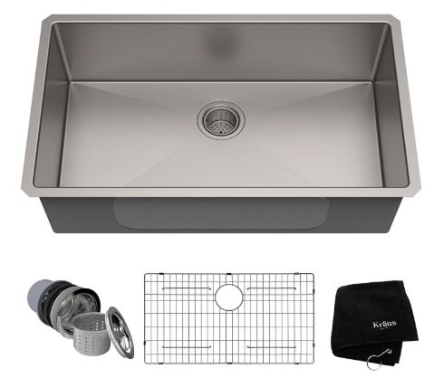 Kraus Standart Undermount Kitchen Sinks KHU100 32