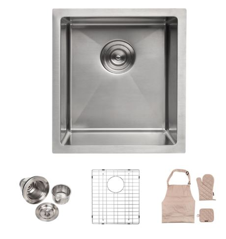 Lordear Commercial 15 Inch Kitchen Sink