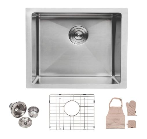Lordear Undermount Deep Single Bowl