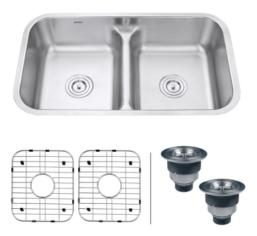 Ruvati Double Bowl Kitchen Sink