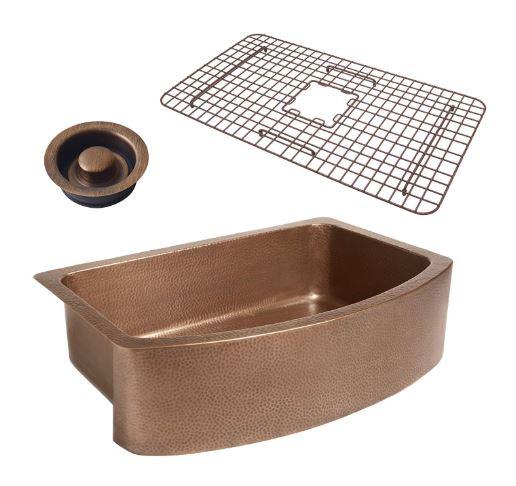 Sinkology WG- D Copper Kitchen Sinks