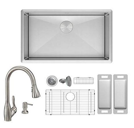 Zuhne Modena 30 x 18 Stainless Steel Kitchen Sinks