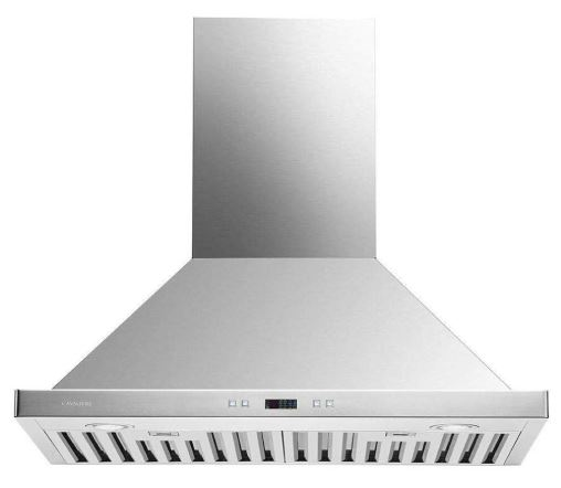 Cavaliere 30 Range Hood Wall Mounted Stainless Steel Kitchen