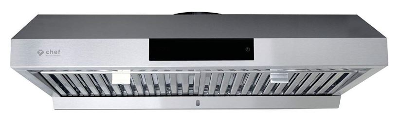 Chef PS 18 Under Cabinet Range Hood Stainless Steel