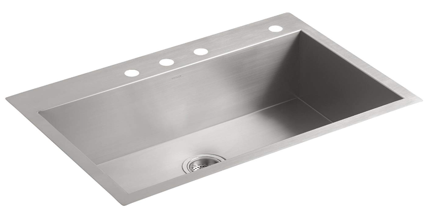Best Undermount Kitchen Sinks Single And Double Bowl