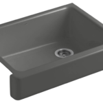 Kohler Whitehaven Self Trimming Apron Front Single Basin Kitchen Sink
