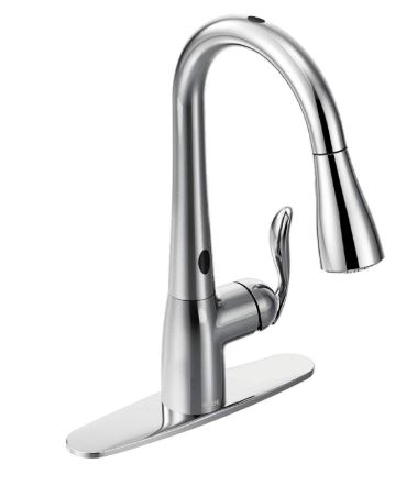Moen Arbor Two Sensor Touchless One Handle High Kitchen Faucet