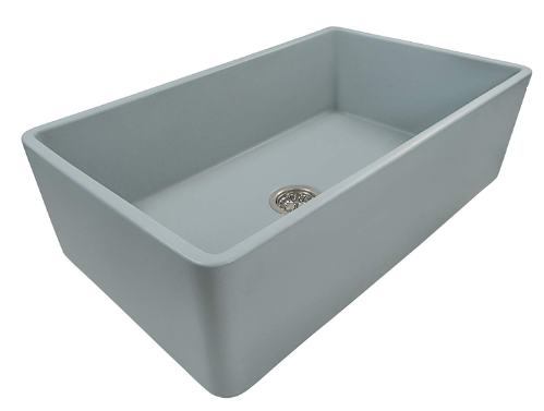 Ruvati Fireclay Reversible Farmhouse Apron Front Kitchen Sink