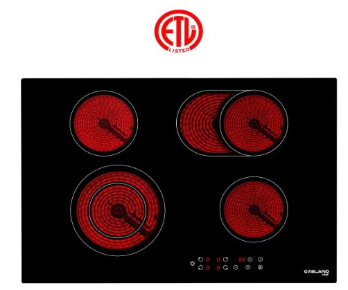 ETL Electric Cooktop Gasland Chef CH 77 BF
