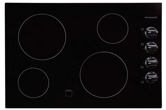 Frigidaire FFEC3024LB 30 Electric Cooktop Black