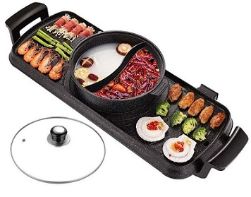 Electric Skillet Barbecue